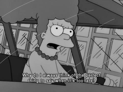 Falling Weed Wallpaper Black And White Life Text Quotes Words Best The Simpsons