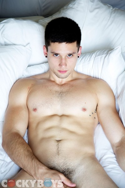 Anthony Romero gets tag-teamed by his boyfriend Austin Wilde and his not-boyfriend Pierre Fitch.