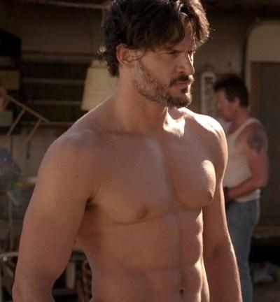 naked nude True Blood ass butt sex scene.