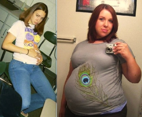 jessica duchess weight gain