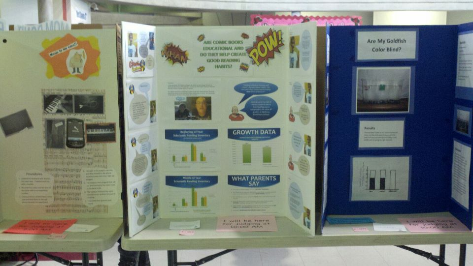 Comics Ban Sparks Science Fair Project Reading With Pictures