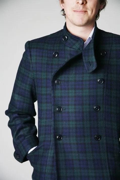 A coat for Moshe - Burdastyle #6039