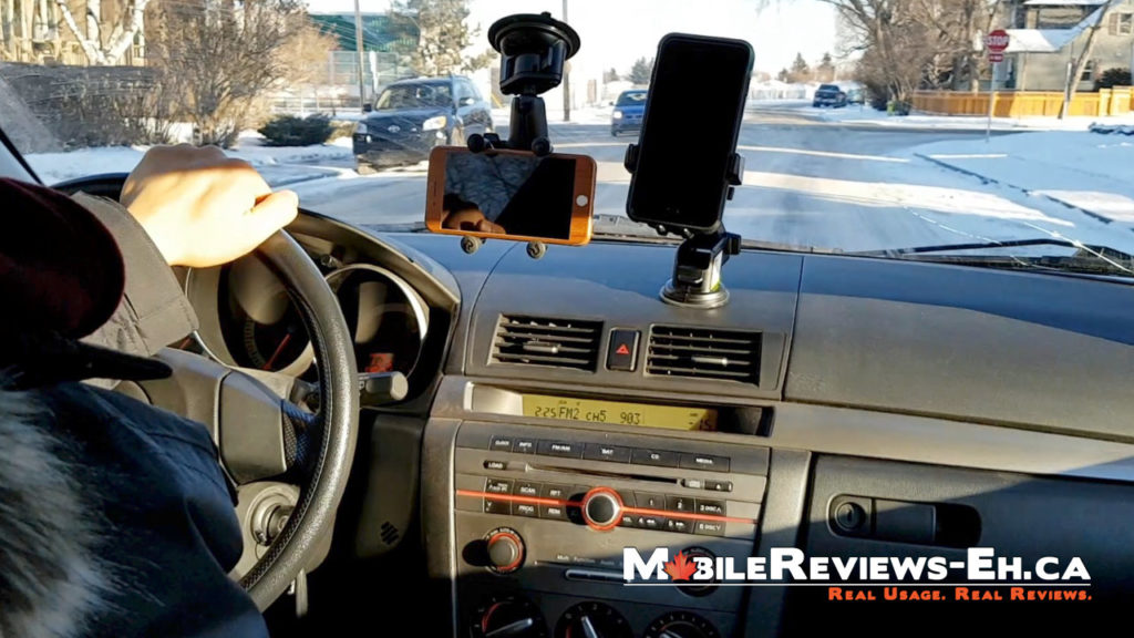 The best place to mount your smartphone in your car? Car Mount