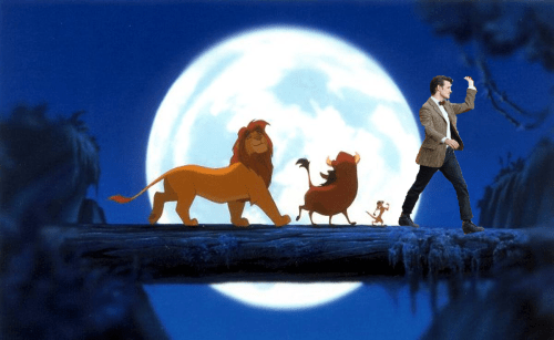 Matt Smith meets The Lion King