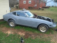 1975 Datsun 260Z Coupe Project Car For Sale in Anniston ...