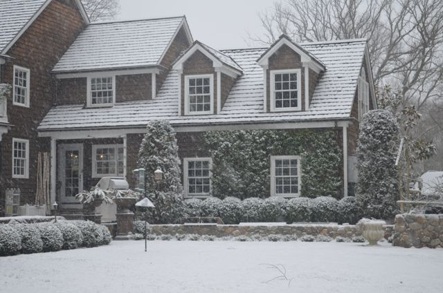 Home Sweet Home in Snow