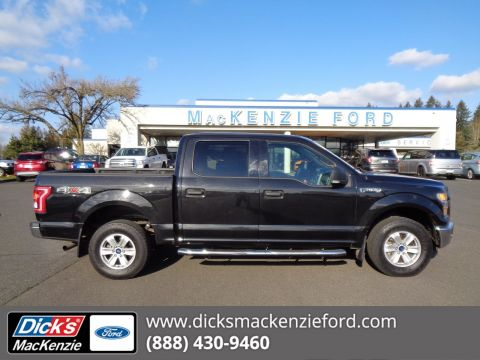 Pre-Owned 2015 Ford F-150 XLT Crew Cab Pickup in Hillsboro #289752A