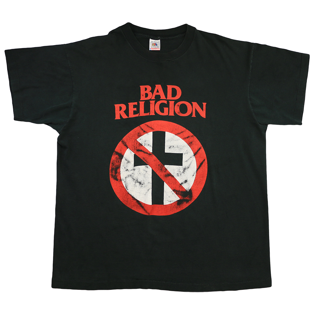 Vintage Bad Copy 1993 Bad Religion Recipe For Hate Tour Shirt