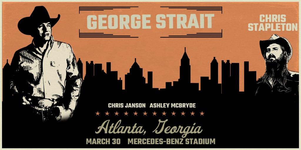 George Strait Returns to Atlanta in 2019 for One Night Only