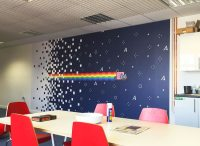 Office Wall Vinyl Wraps | Vinyl Revolution