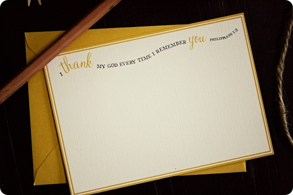 thank you notes {free download} Jones Design Company