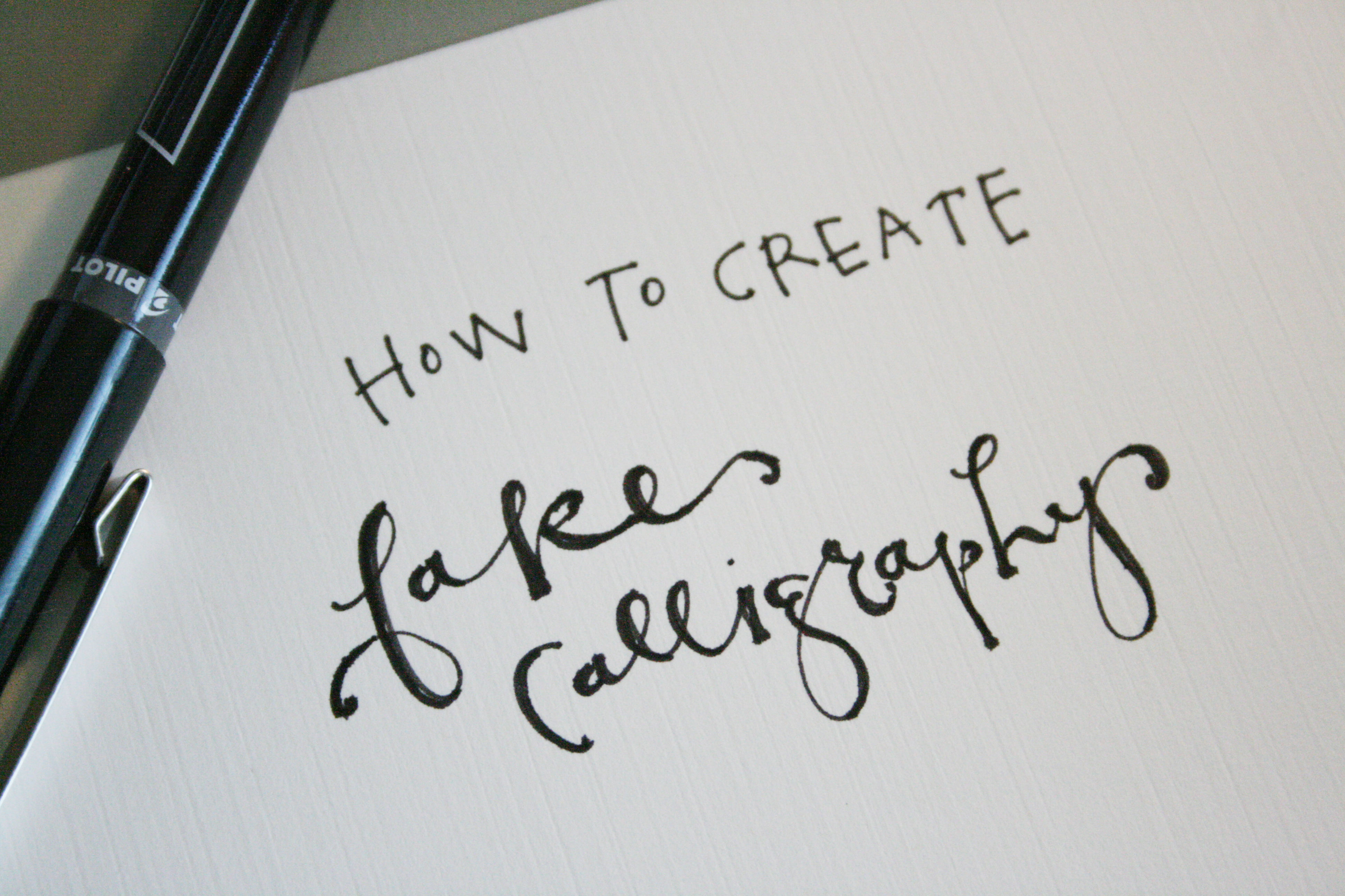 Inspirational Quote Wallpaper Generator How To Create Fake Calligraphy Tutorial Practice