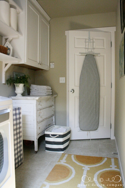 Ironing Board Cabinet Ikea The Laundry Room Is Finished | Jones Design Co.