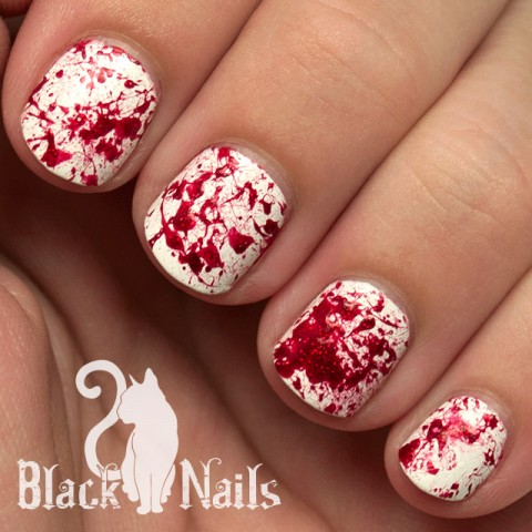 4 Easy Halloween Nail Art Ideas - 29Secrets