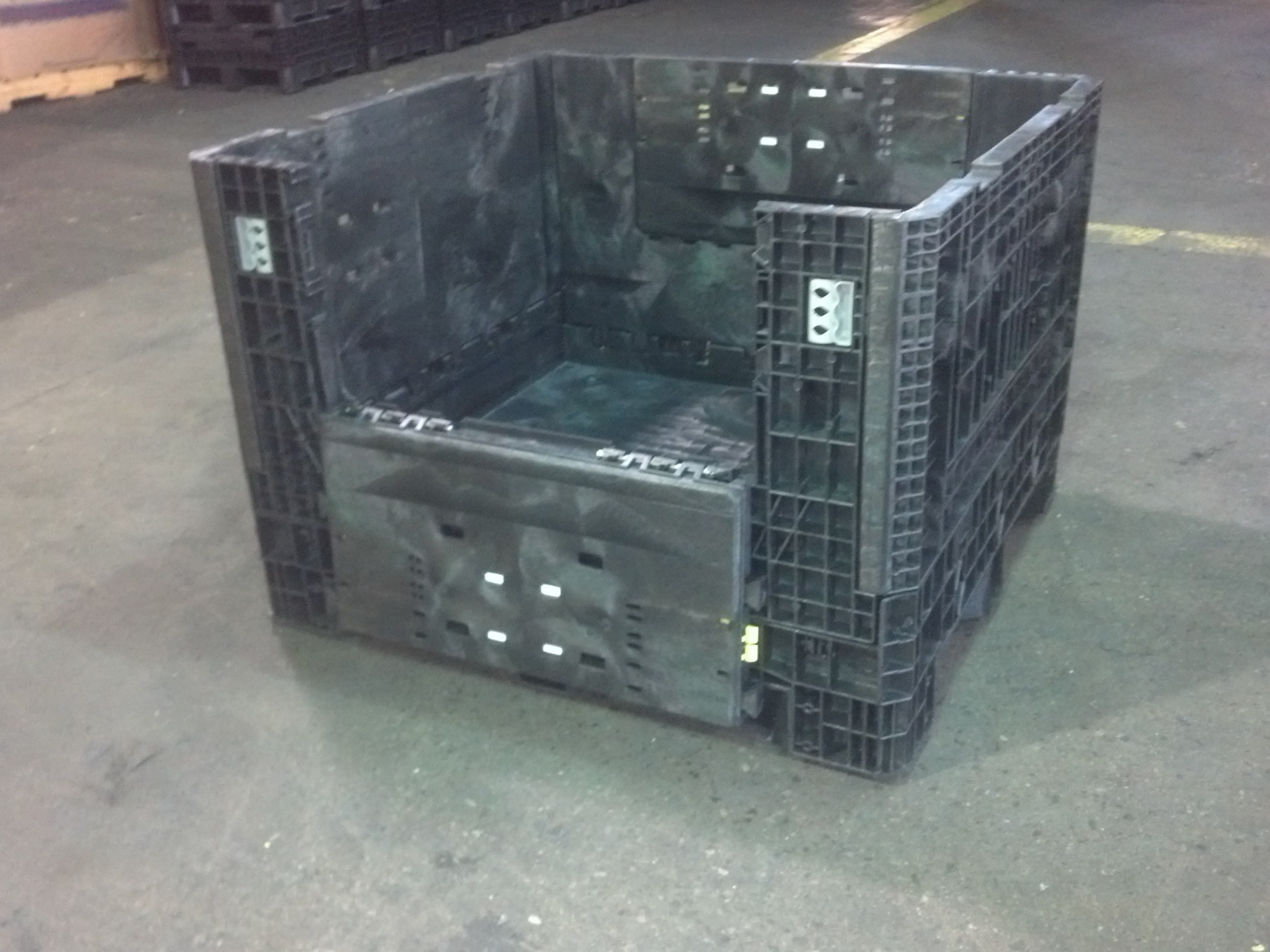 Bulk Boxes Bulk Plastic Container Warehouse Rack And Shelf