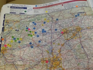 NC Rand McNally Map