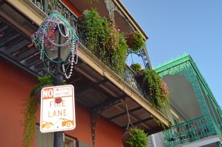 Beads and Balconies