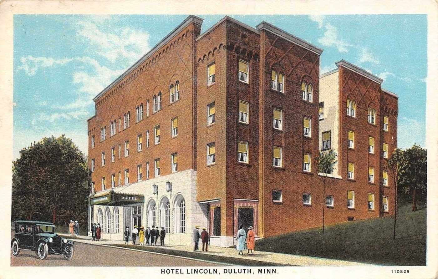 Hotel Lincoln Postcards From Duluth S Lincoln Hotel Perfect Duluth Day