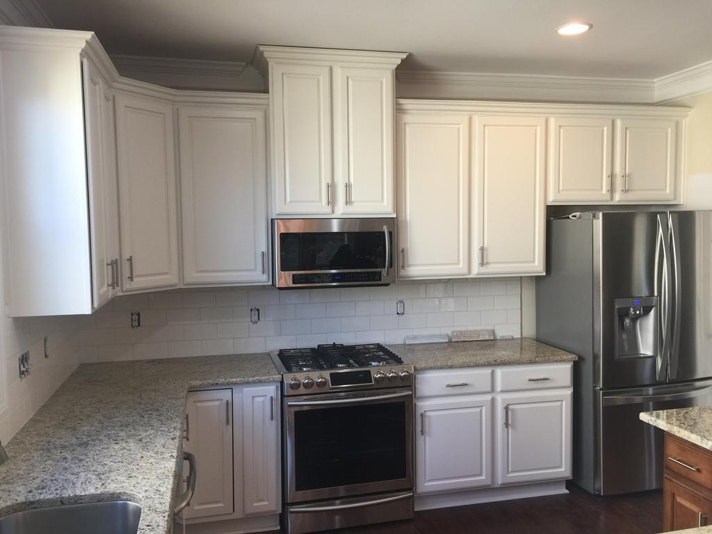 Island In Kitchen Or Not Sherwin Williams Timeless White - 2 Cabinet Girls
