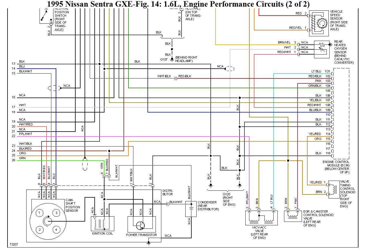 2000 nissan sentra alternator wiring