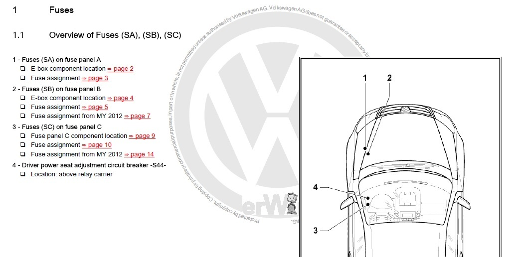 vw jetta wire diagram