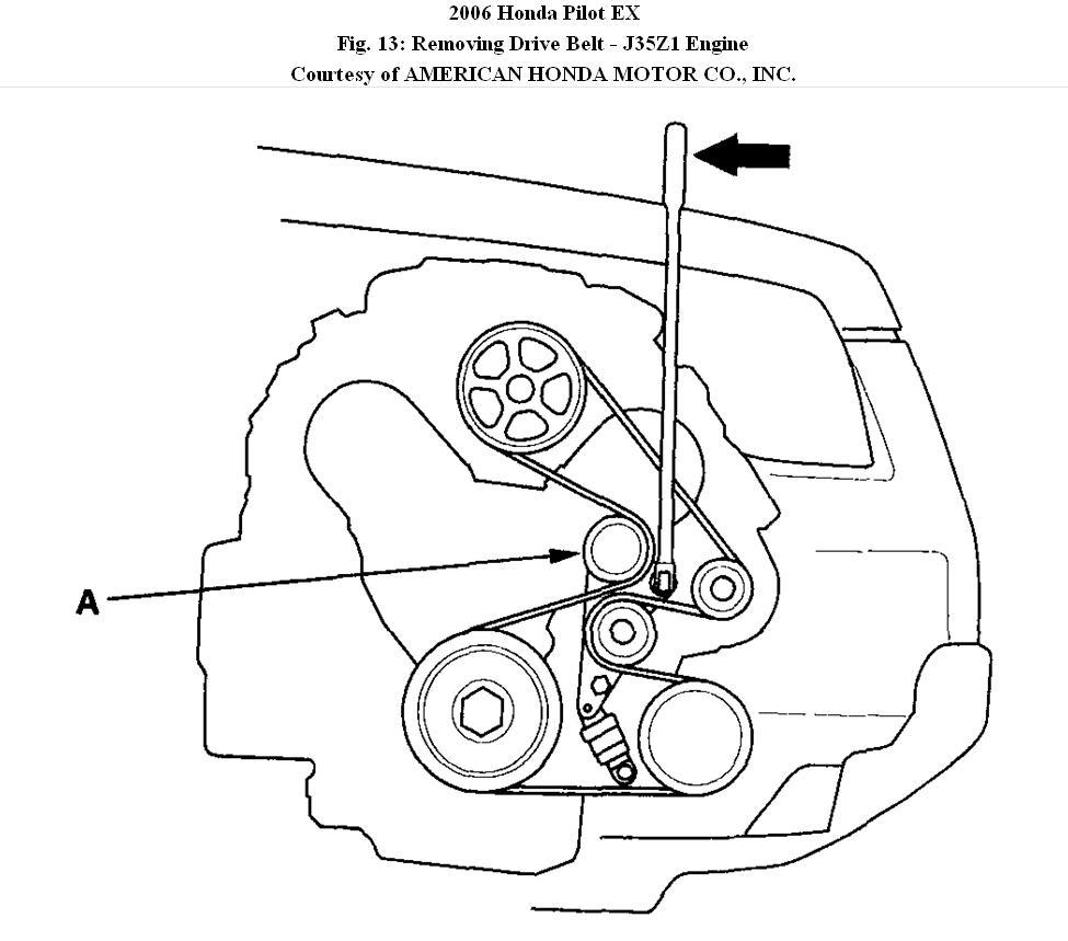 2012 honda pilot engine diagram