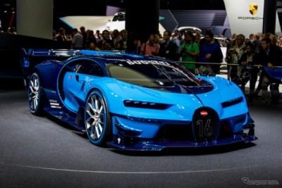 世界最強、最速、最高価ブガッティヴェイロン後継車Chironの姿がスクープ公開キター!!!(画像有)