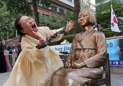 岸田外相「少女像は適切に移設」 韓国政府「勘違いするな 少女像は撤去しない」