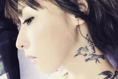 鳥居みゆき お尻まる出し妖艶セクシー全身タトゥー画像がカッコイイと好評