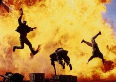 【火元注意】爆発や火にまつわる衝撃GIF画像