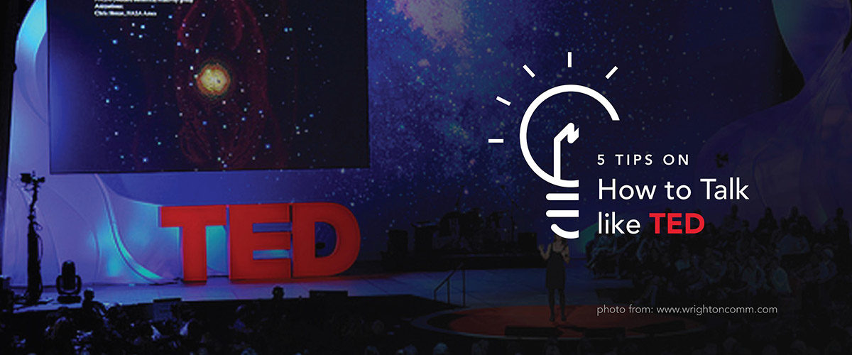 5 Tips on How to Talk like TED
