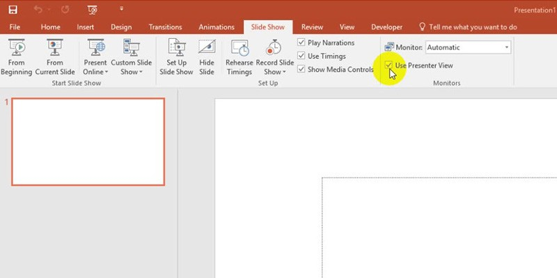 View Notes During Your Presentation for PowerPoint 2013