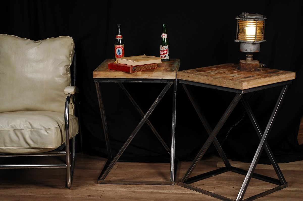 Meuble Industriel Salon Table De Salon Design Industriel Industrialcoffee Table 2 Chance Deco