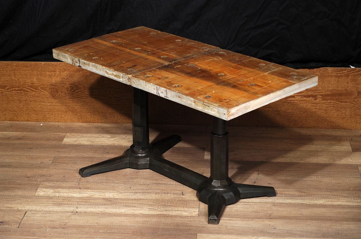 Cabinet De Rangement Industriel Table De Salon Industriel Antique / Antique Industrial