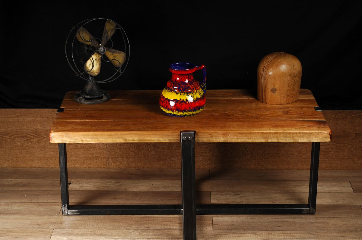 Meuble Industriel Table De Salon Industrial Furniture Coffee Table 2 Chance Deco