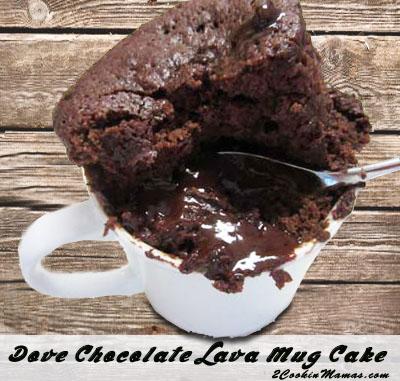 easy chocolate lava mug cakes 2 cookin mamas