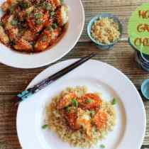 Baked Honey Garlic Chicken | 2CookinMamas