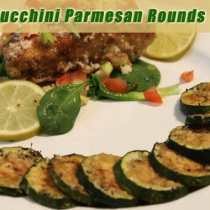 Zucchini Parmesan Rounds | 2CookinMamas