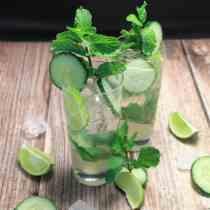Cucumber Mojito square|2CookinMamas
