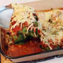 Mozzarella Stuffed Kale Wrapped Meatballs 1|2CookinMamas