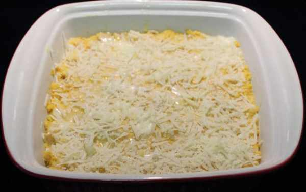 Cheese Polenta and Butternut Squash Casserole prebaked|2CookinMamas