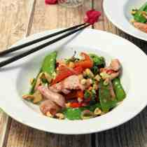 Chicken Stir Fry with Plum Sauce square