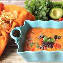 Spicy Mexican Cheese Dip square