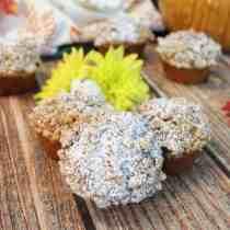 Chocolate Chip Pumpkin Muffins square