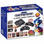 SEGA Genesis Classic Game Console, 80 Built-In games With 2 Wired Controllers