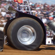 Tractor Pulling Contest in Bernay