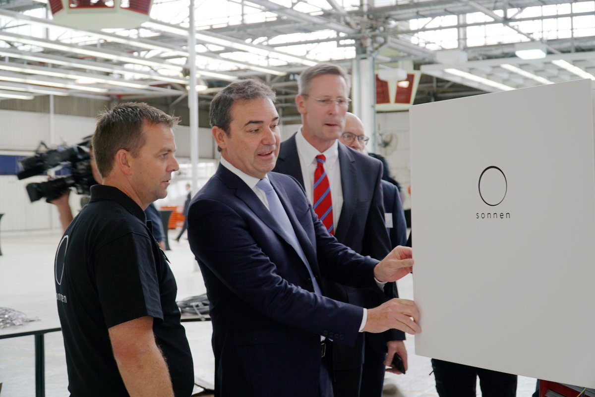 Battery Shop Adelaide Sonnen Begins Battery Production In South Australia Pv