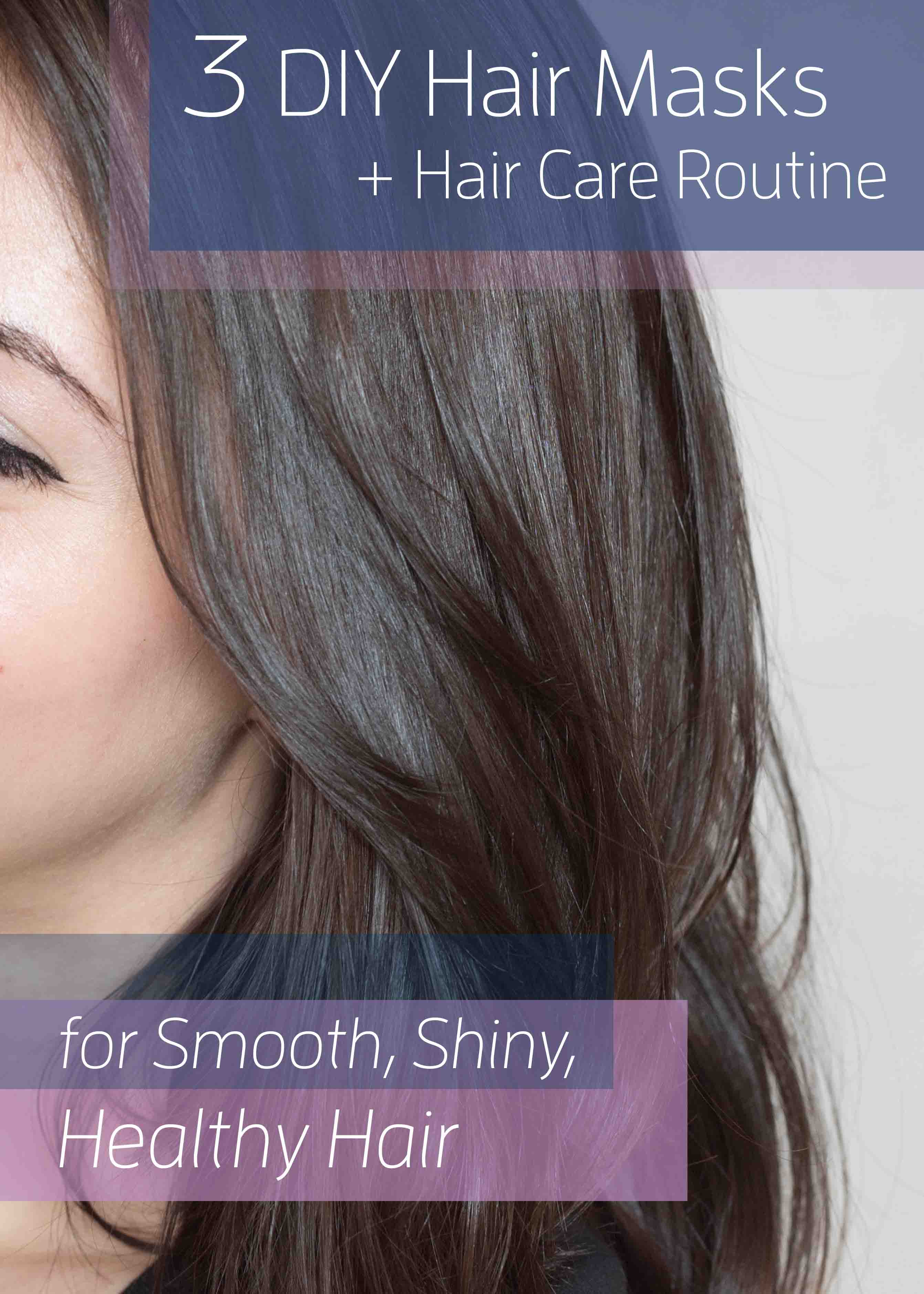 3 Diy Hair Masks Maintenance For Smoother Shinier Hair Jessoshii