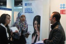 British Council at teh 17th JETe 2013acd0