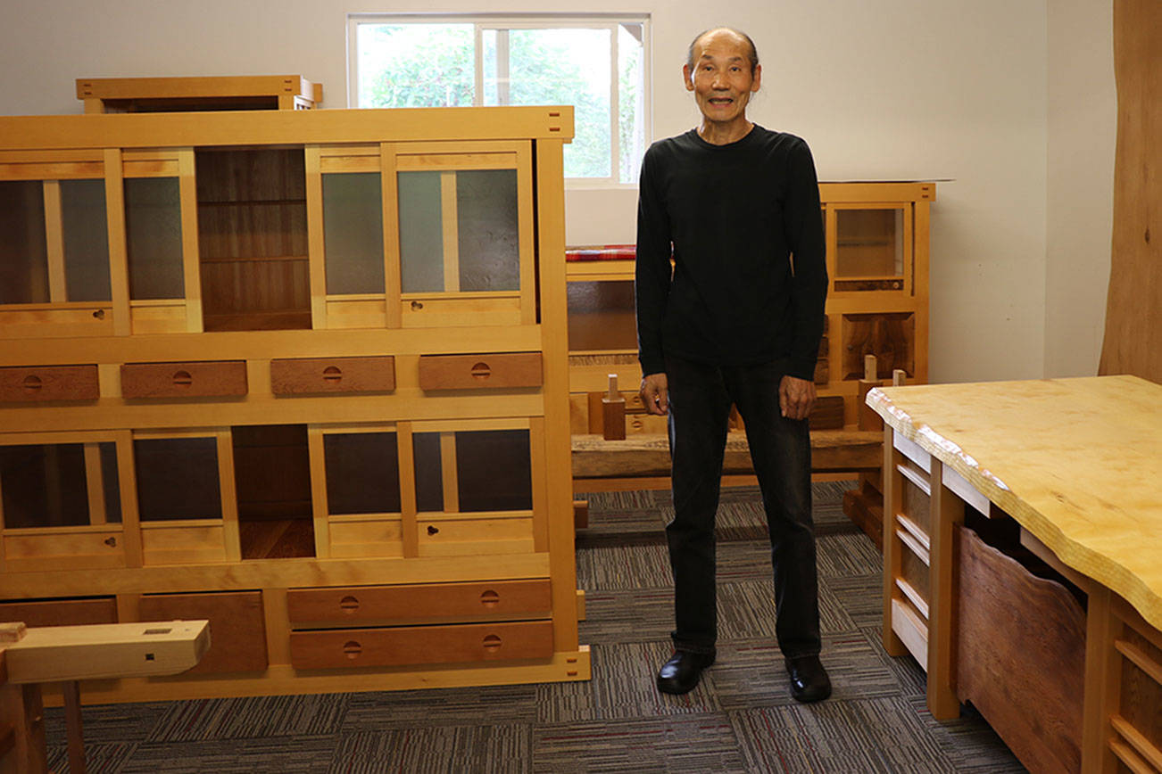 Seabeck Man Uses Traditional Japanese Wood Joinery To Build Furniture Kitsap Daily News